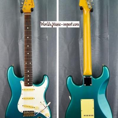 VENDUE... FENDER Stratocaster ST'62 1990 LPB Lake Placid Blu *ORDER MADE* Rare Japon import  *OCCASION*