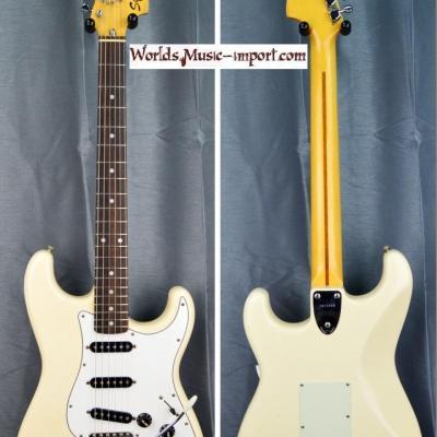 Squier by FENDER Stratocaster ST'71 SST 1984 VWHITE  japan import *OCCASION*