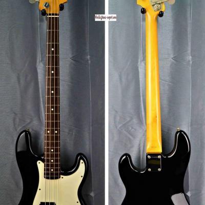 VENDUE... FENDER Precision Bass PBD' 62 Black 1989 Japon import *OCCASION*
