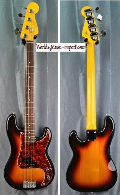 RESERVEE... FENDER Precision Bass PB'62-US 3TS 2000 japon import *OCCASION*