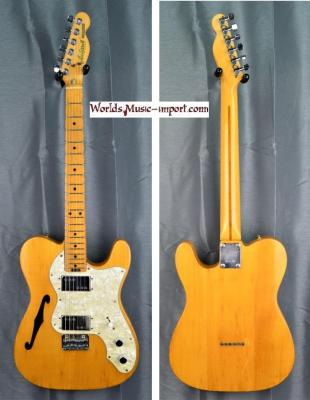 ARIA Pro II Telecaster TE-500 Backaroo Thinline 1978 Ash natural gloss Import japan *OCCASION*