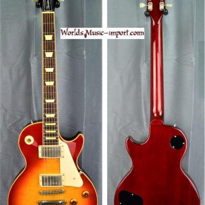 ORVILLE Les Paul Standard LPS-80 CherrySunburst Flame 1994 japon import *OCCASION*