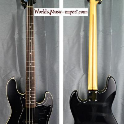 Fender Jazz Bass Aerodyne AJB-66 Deluxe 2005 black satin 'Order Made' RARE japan import *OCCASION*