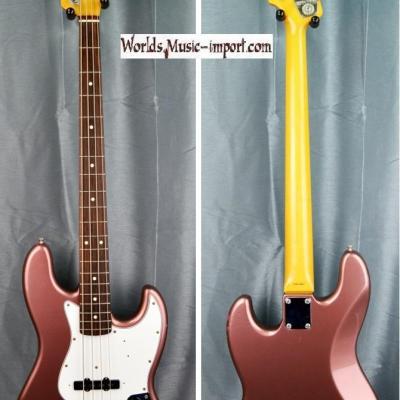 FENDER Jazz Bass JB'62-US 1999 BGM Burgundy Mist 'RARE Color' japan import *OCCASION*