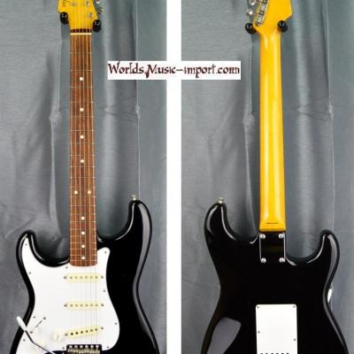 FENDER Stratocaster ST'62 LH 2010 black 'gaucher' japan import *OCCASION*