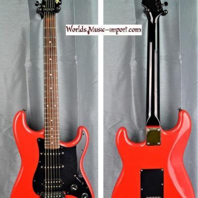 VENDUE... FENDER Stratocaster Floyd MH ST-556 Red 1985 japan 'RARE' import *OCCASION*