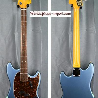 VENDUE... FENDER Mustang Bass Racing competition MB'98 CO 2010 Lake Placid Blu japan import  *OCCASION*