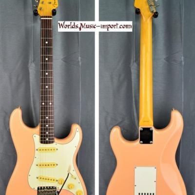 VENDUE... FENDER Stratocaster ST'62-TX Shell Pink 2007 Nitro 'RARE' japon import *OCCASION*