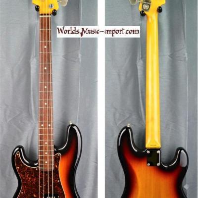 VENDUE... FENDER Precision Bass PB'62-US LH 3TS 2007 'gaucher' japon import *OCCASION*
