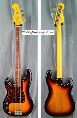 FENDER Precision Bass PB'62-US LH 3TS 2007 'gaucher' japon import *OCCASION*