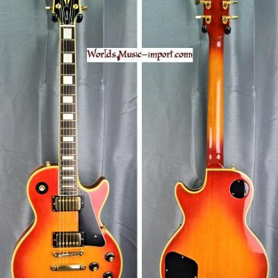 VENDUE... ARIA Pro II Les Paul Custom LC-500 Heritage Cherry Sunburst japon 1979 import *OCCASION*