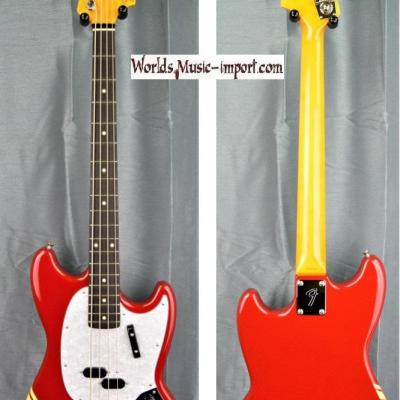 VENDUE... FENDER Mustang Bass MB'98 TRD Racing CO 2008 Japon import *OCCASION*
