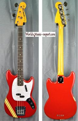 FENDER Mustang Bass MB'98 TRD Racing CO 2008 Japon import *OCCASION*