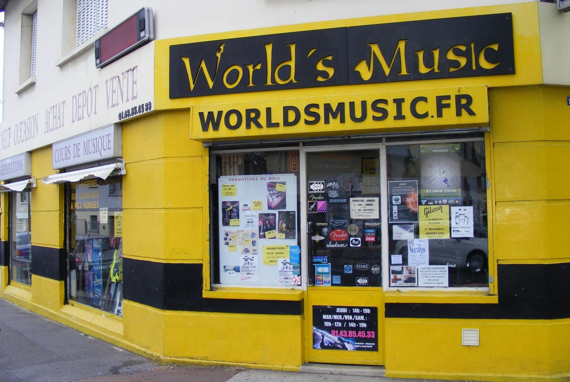 Worldsmusic exterieur